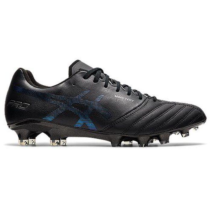 ASICS アシックス DS LIGHT X-FLY PRO 1101A025 ブラック×プリズムブルー サッカー スパイク ST