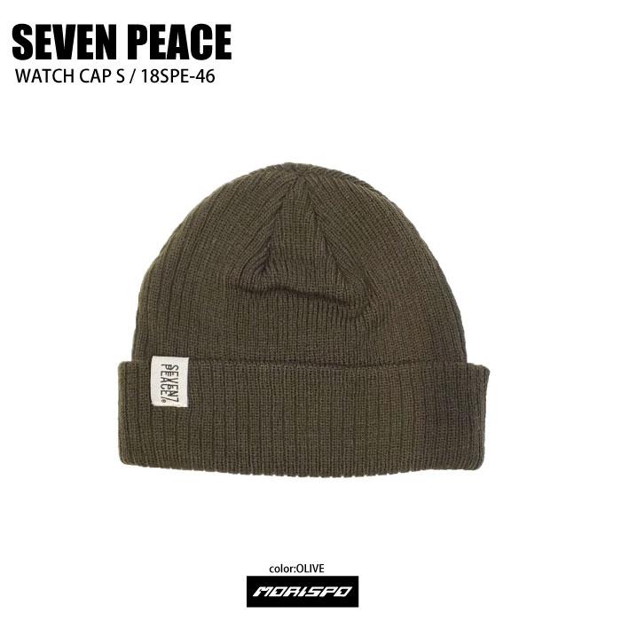 SEVENPEACE セブンピース 18SPE-46 WATCH CAP S ウォッチキャップ 18SPE-46 オリーブ 帽子類 ビーニー
