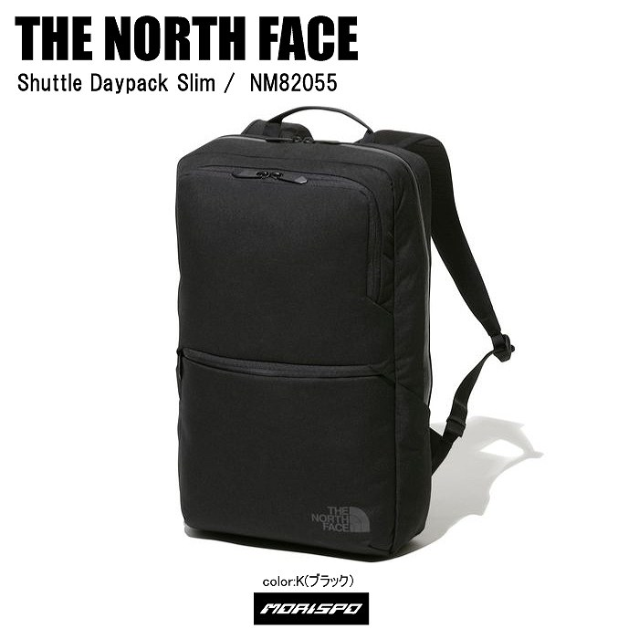 THE NORTH FACE ノースフェイス リュック バッグ SHUTTLE DAYPACK SLIM シャトルデイパックスリム NM82055 ブラック