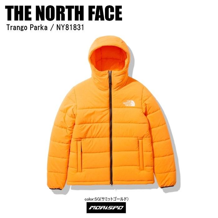 THE NORTH FACE ノースフェイス ダウン ジャケット TRANGO PARKA トランゴパーカ NY81831 サミットゴールド