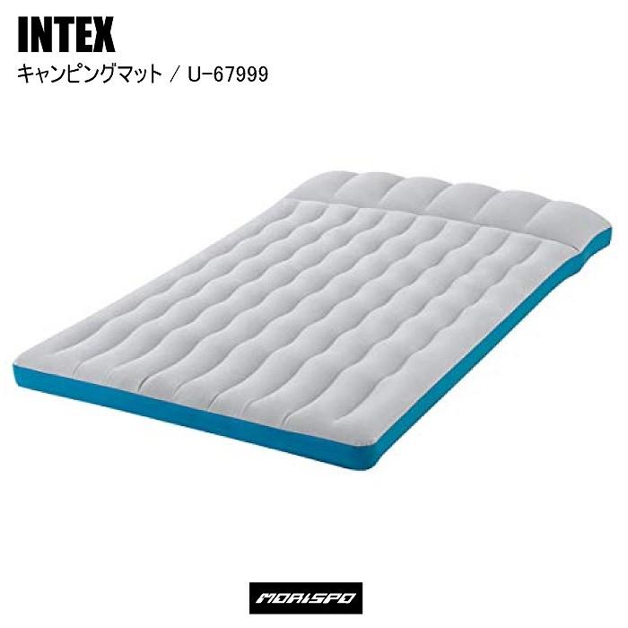 INTEX インテックス エアベッド シングル おすすめ キャンプ キャンピングマット U-67999 127X193X24
