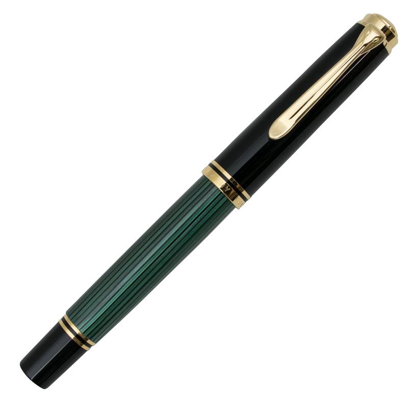 ペリカン R800 ローラーボール 緑縞