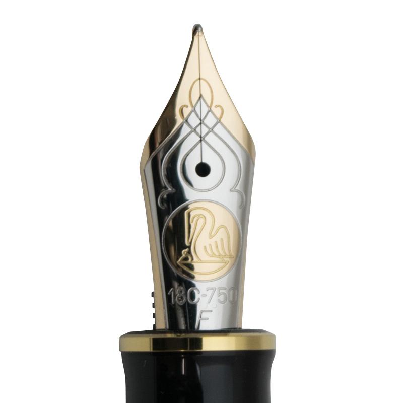 ペリカン 特別生産品 M800 バーントオレンジ 万年筆 (吸入式)