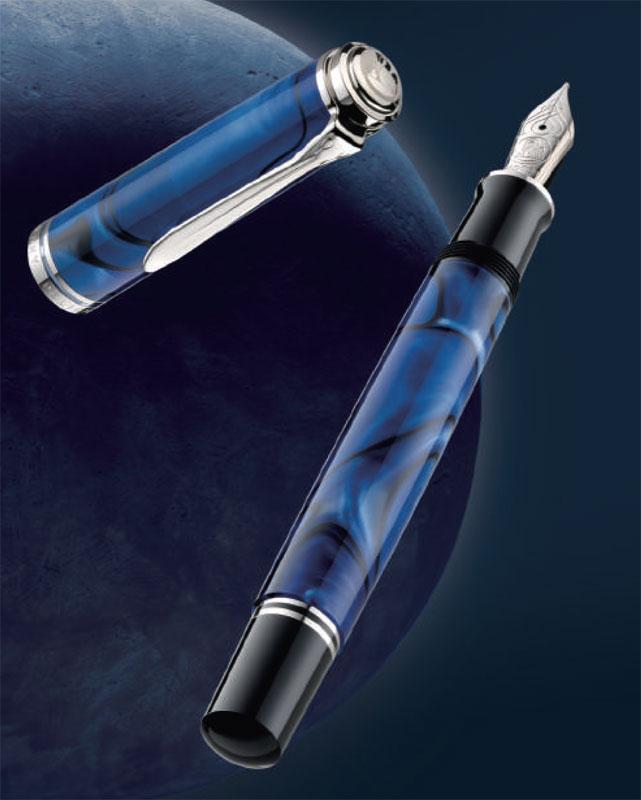 ペリカン 特別生産品 M805 ブルーデューン 万年筆 (吸入式)