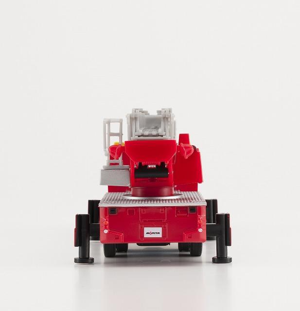 モリタはしご消防車スーパージャイロラダーミニカー