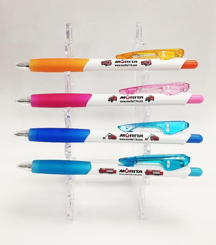 【在庫限り】NEW消防車ボールペン(4本セット)