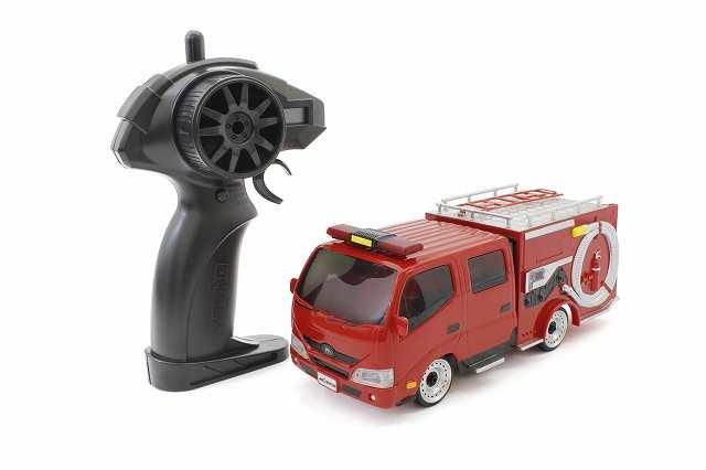 【 NEW 】 ラジオコントロールカー「ファーストミニッツ モリタ消防車 CD-I型ミラクルLight」