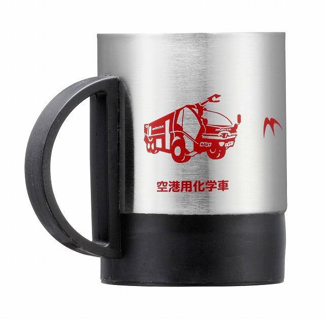 【在庫限り】 消防車マグカップ