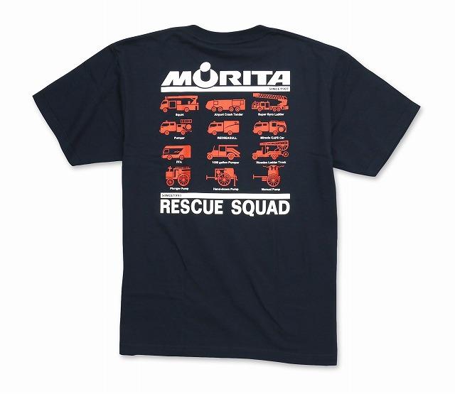 【新色追加】 Wネーム・モリタTシャツtype7