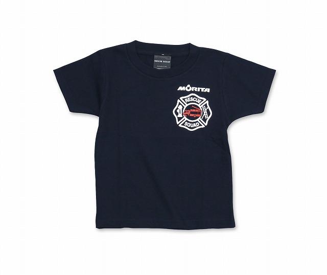 【新色追加】 Wネーム・キッズ モリタTシャツtype7