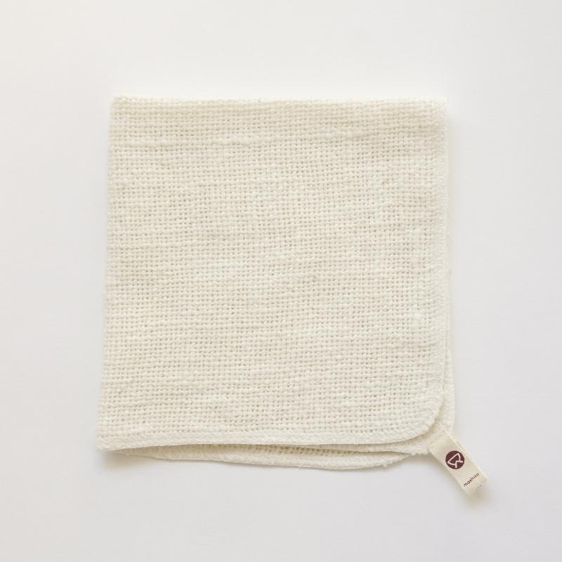 益久染織研究所 ガラ紡の食器も洗えるふきん