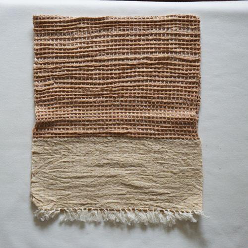 farola ワッフル織りのふんわりてぬぐい・ベージュ