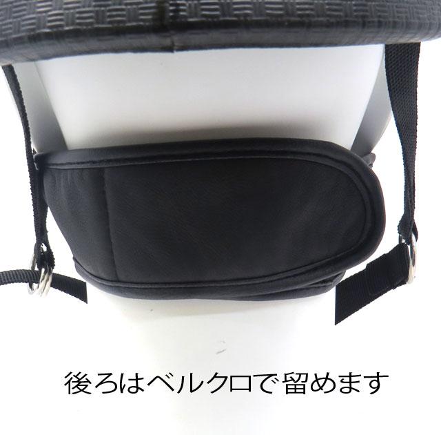 ゆうパケット送料無料!【HEAVY】シープスキン&フリース レザーマスクDX