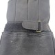 定形外送料無料!【NAPA×HEAVY】鹿革ガントレットグローブ シンサレート冬用・ブラック EXTRA WARM|820TL