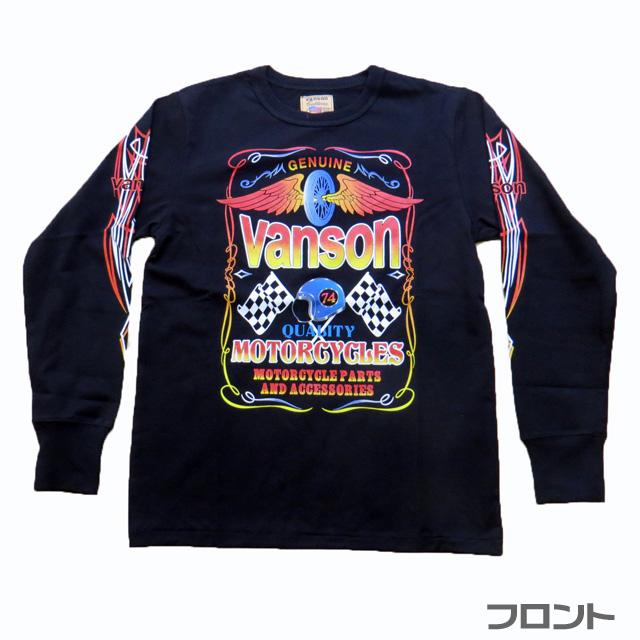 【VANSON】バンソン 長袖Tシャツ (888V141)