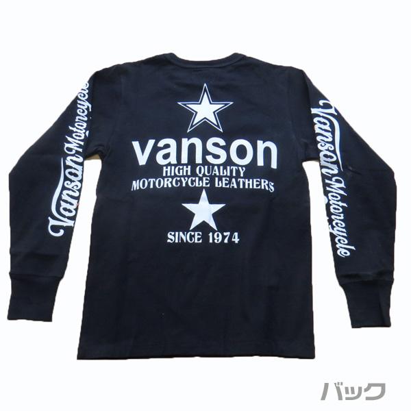 【VANSON】バンソン 長袖Tシャツ (888V142)