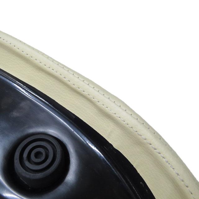 《モトブルーズオリジナル》【M.B.P】スーパーカブ/リトルカブ用カスタムシート『MBP-CSD-IV』コブラシート アイボリー ダイヤステッチ