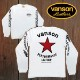 【VANSON】バンソン長袖Tシャツ「RED One STAR」レッドワンスター VLS-11