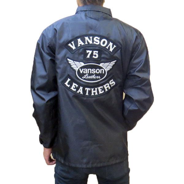 【VANSON】バンソン コーチジャケット