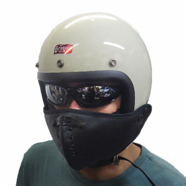 【モトブルーズオリジナル】 MASCA ジェットマスク PVC JET MASK |2デザイン |