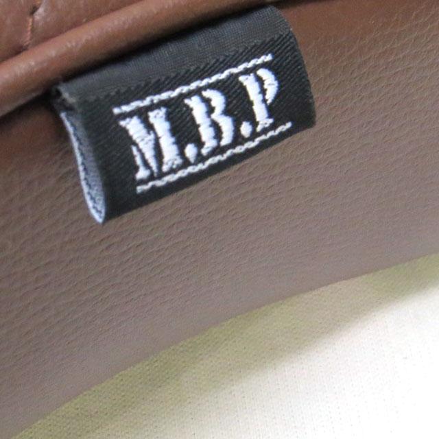 《モトブルーズオリジナル》【M.B.P】スーパーカブ/リトルカブ用カスタムシート『MBP-CST-BR』コブラシート ブラウン タックロール(横ライン)
