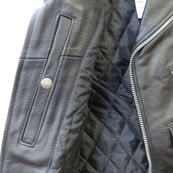 【Allstate Leather】ライダースベスト AL2012