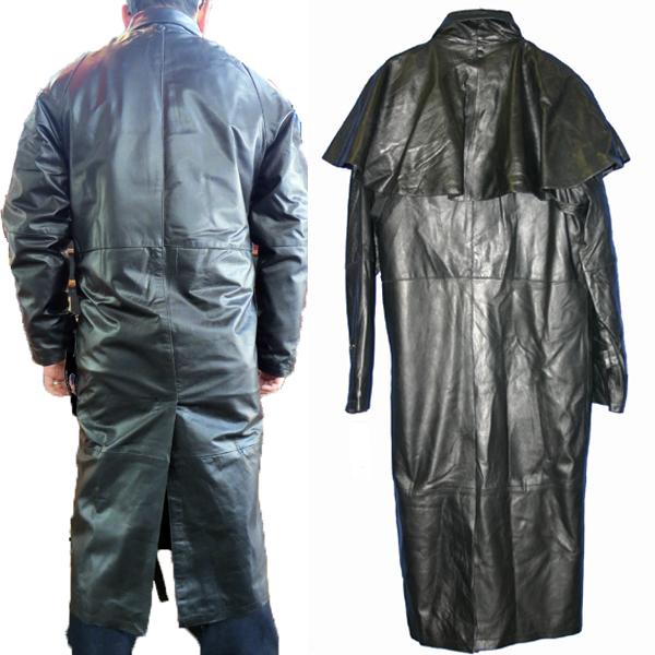 【All State Leather】上質バッファローダスターコート AL2601