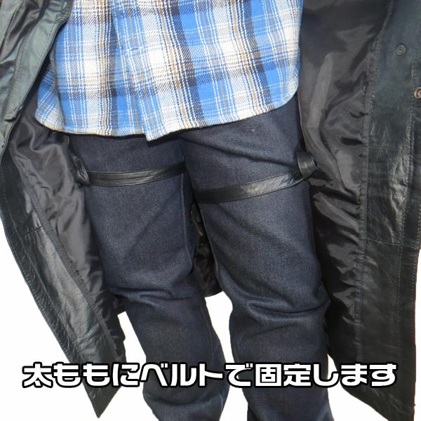 【All State Leather】上質バッファローダスターコート AL2601 [2XL・3XL]