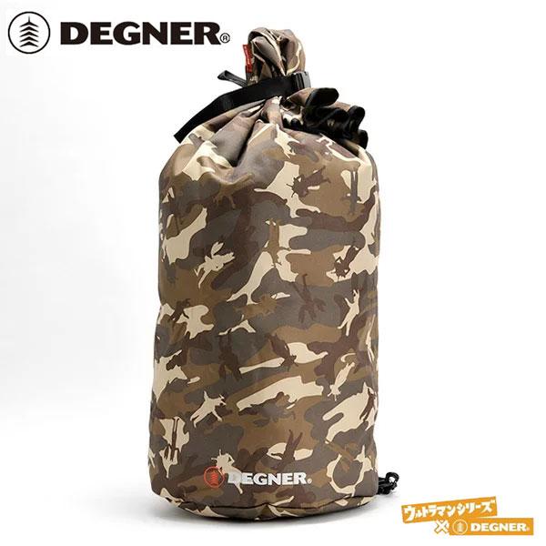 【DEGNER】デグナー ビッグサック(ウルカモ) 防水 レインバッグ 45L (NB-25) ワンショルダーバッグ ウルトラマンシリーズ