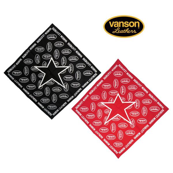 【VANSON】バンソン ONE STAR バンダナ