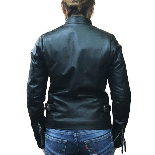 【FREEDOM】フリーダム (レディース)シングルライダース レザージャケット 革ジャン