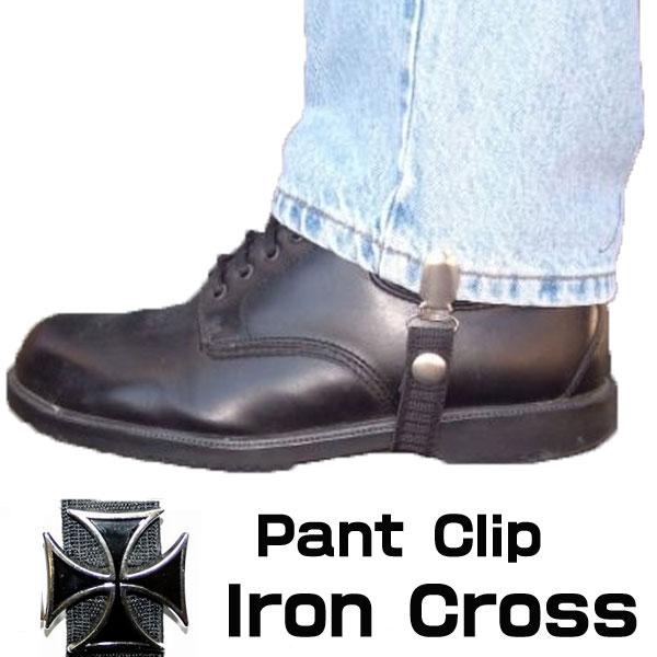 【Chain Reaction】パンツ/ブーツクリップ『Iron Cross』