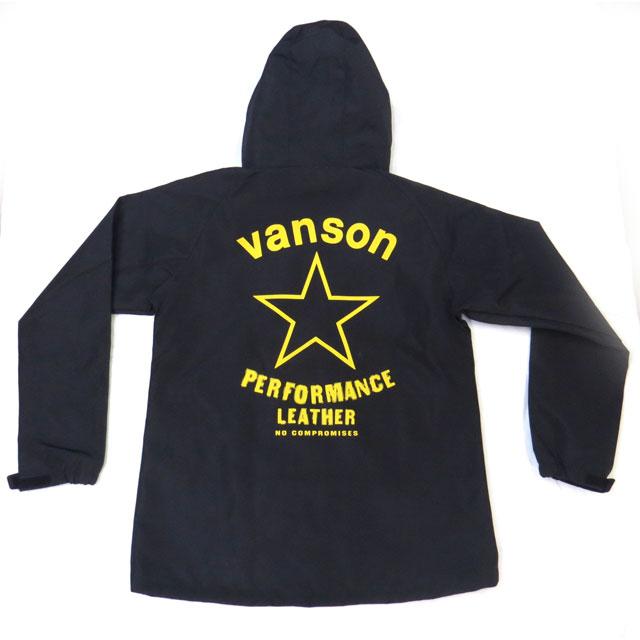 【VANSON】バンソン シェルパーカー『YELLOW STAR』SHELL PARKA  イエロースター ウィンドブレーカー