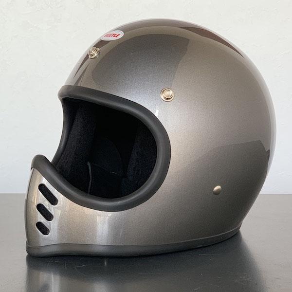【OCEAN BEETLE】BEETLE MTX シャンパンゴールド・スペースグレイ|オーシャンビートル フルフェイスヘルメット