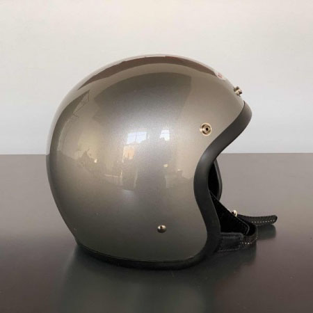 【OCEAN BEETLE】BEETLE LAC シャンパンゴールド・スペースグレイ|オーシャンビートル ジェットヘルメット