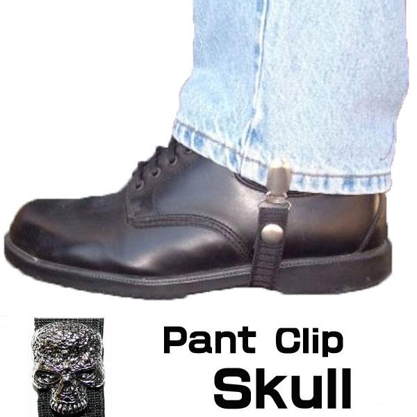 【Chain Reaction】パンツ/ブーツクリップ『Skull』