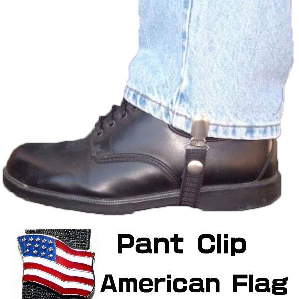 【Chain Reaction】パンツ/ブーツクリップ『American Flag』