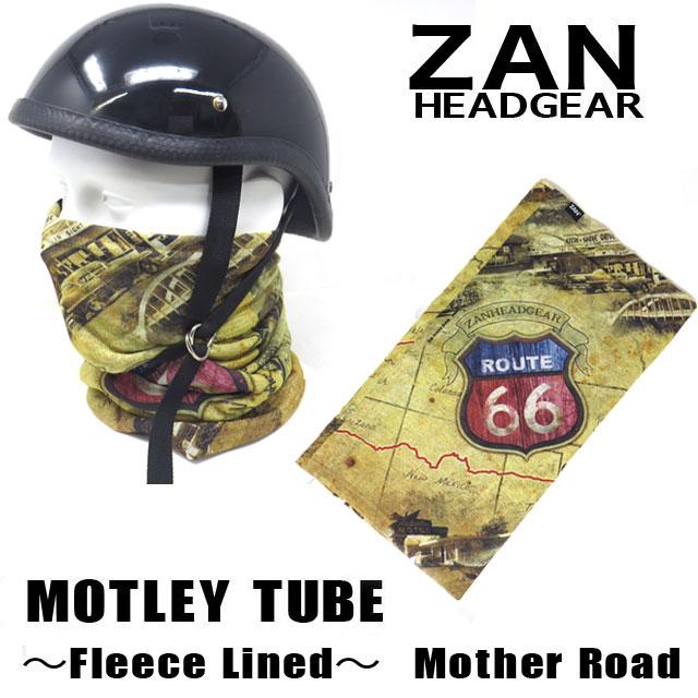 【ZANheadgear】 Motley Tube 冬用防寒フリースライナーネックウォーマー&フェイスマスク・マザーロード (TF240)