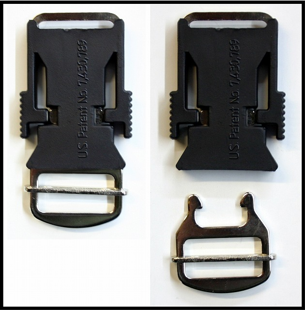 【ECHO】Quick Release Buckle クイックリリースバックル (ワンタッチバックル)