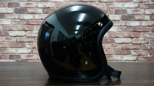 【OCEAN BEETLE】BEETLE 500TX-2 オーシャンビートル ジェットヘルメット・ブラック