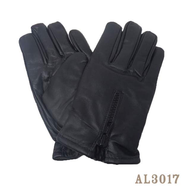 【ALL STATE LEATHER】山羊革ジップアップWARMグローブ・AL3017