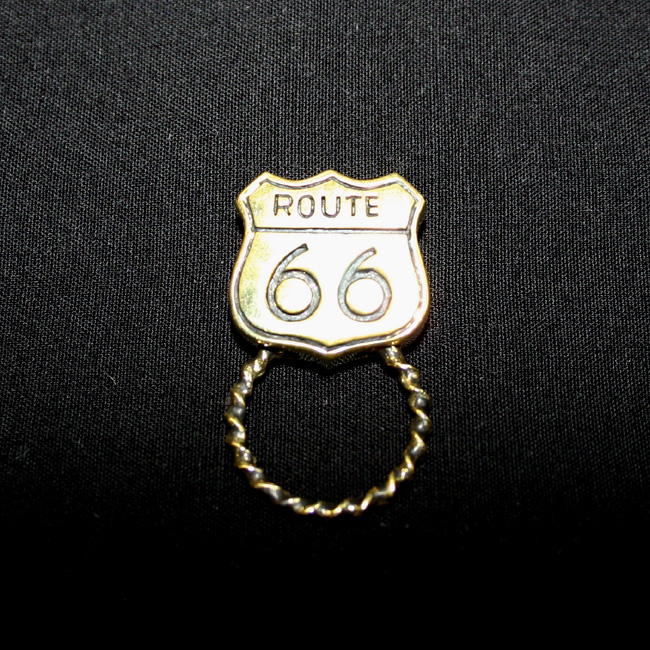サングラスホルダー(コンチョタイプ)ルート66 ゴールド
