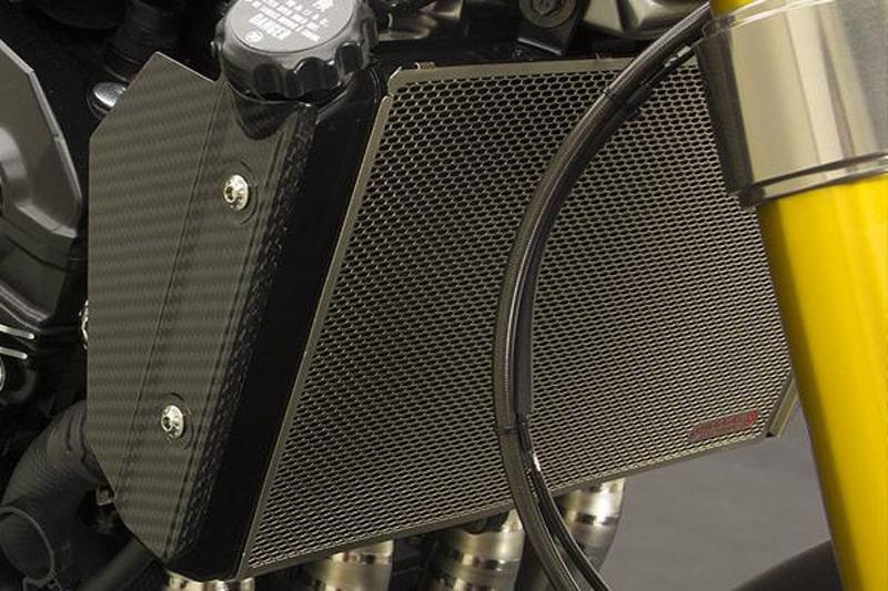 チタニウム プロテクションスクリーン ラジエター Kawasaki  Z900RS / Z900RS CAFE
