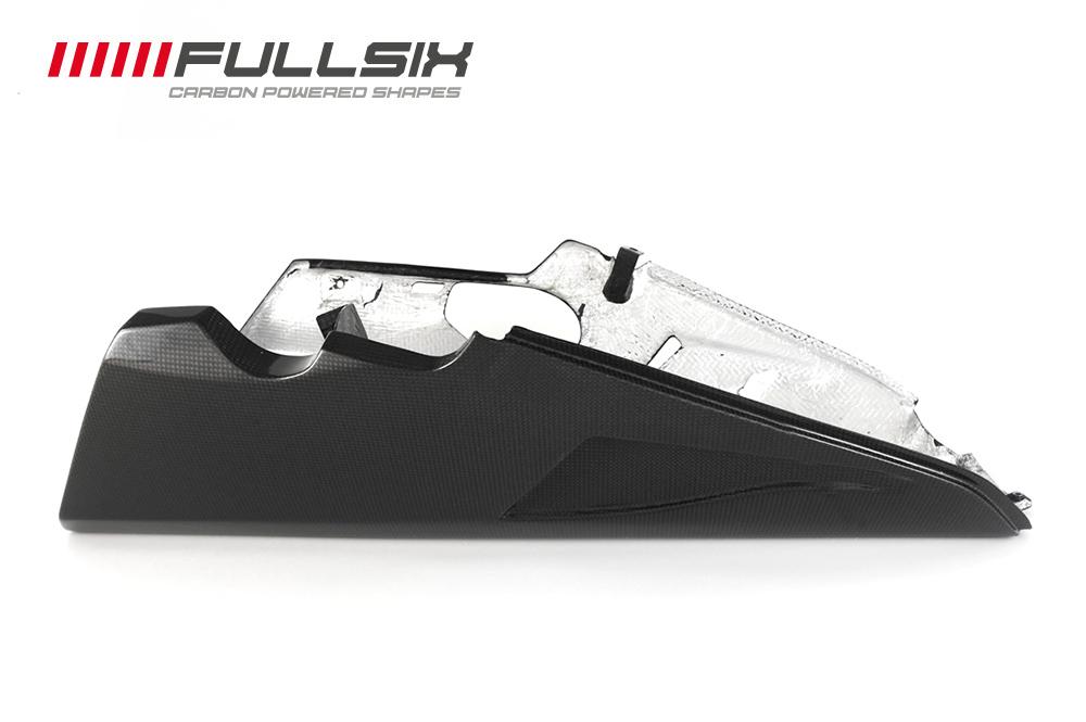 FULLSIX(フルシックス) ドライカーボン製 アンダーカウル アクラポビッチセンターマフラー用 DUCATI SUPERSPORT 939