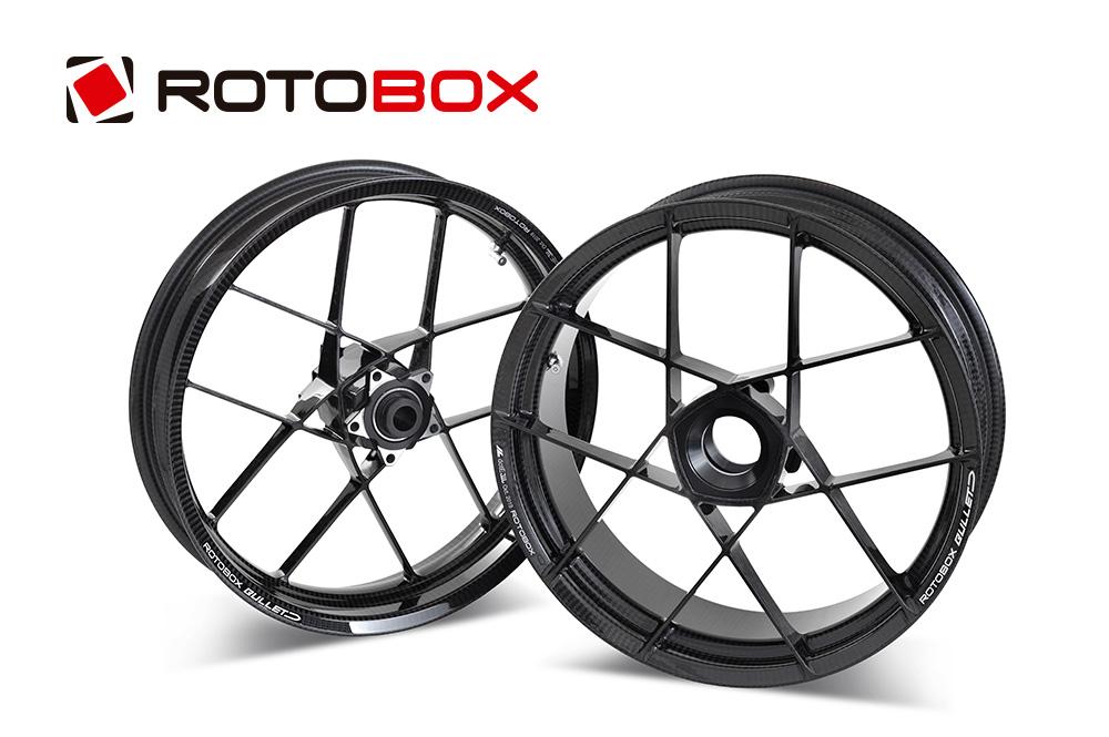 ROTOBOX(ロトボックス) カーボンホイールセット BULLET (バレット) DUCATI Monster1100 (03-)/S4RS/S2R