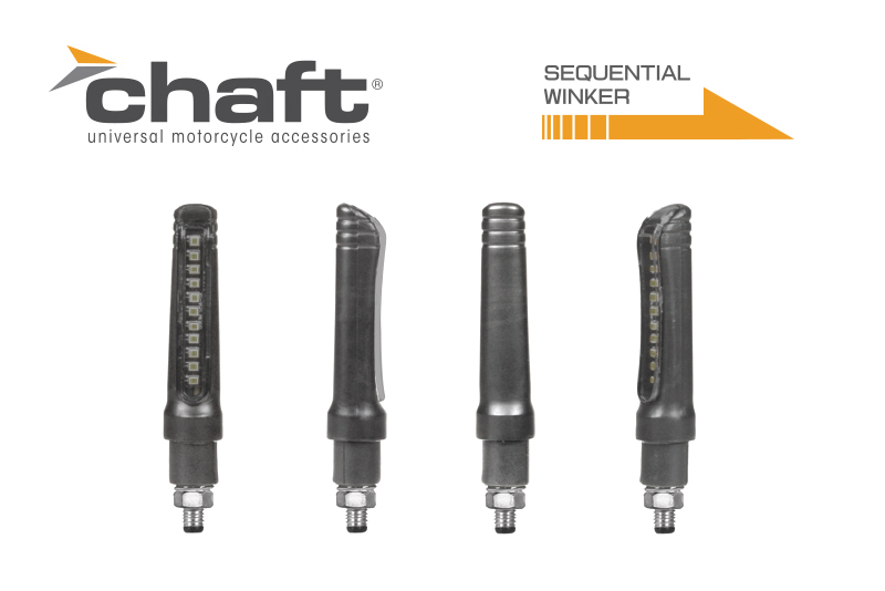 CHAFT チャフト LEDシーケンシャルウインカー(流れるウインカー) 汎用品 1年保証付き
