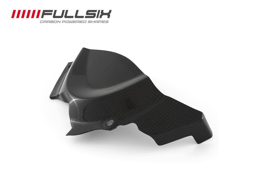 FULLSIX(フルシックス) ドライカーボン製 フロントスプロケットカバー DUCATI MONSTER1200