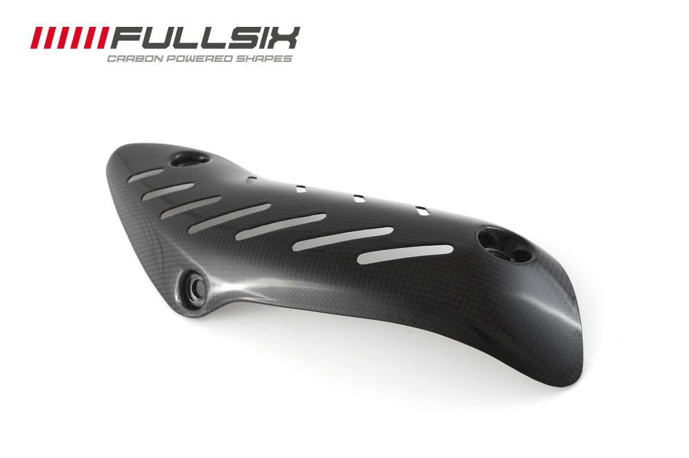 FULLSIX(フルシックス) ドライカーボン製 エキゾーストプロテクターカバー DUCATI MONSTER1200/821