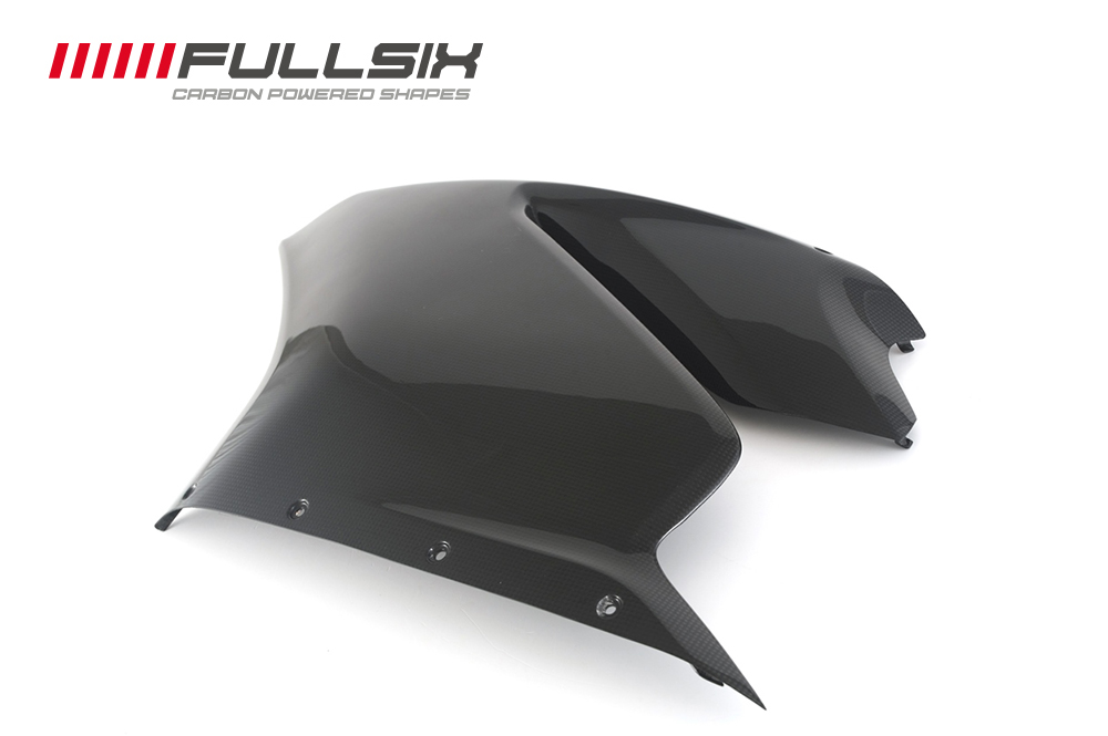 FULLSIX(フルシックス) ドライカーボン製  サイドセンターカウル(左) DUCATI 1299/959  Panigale