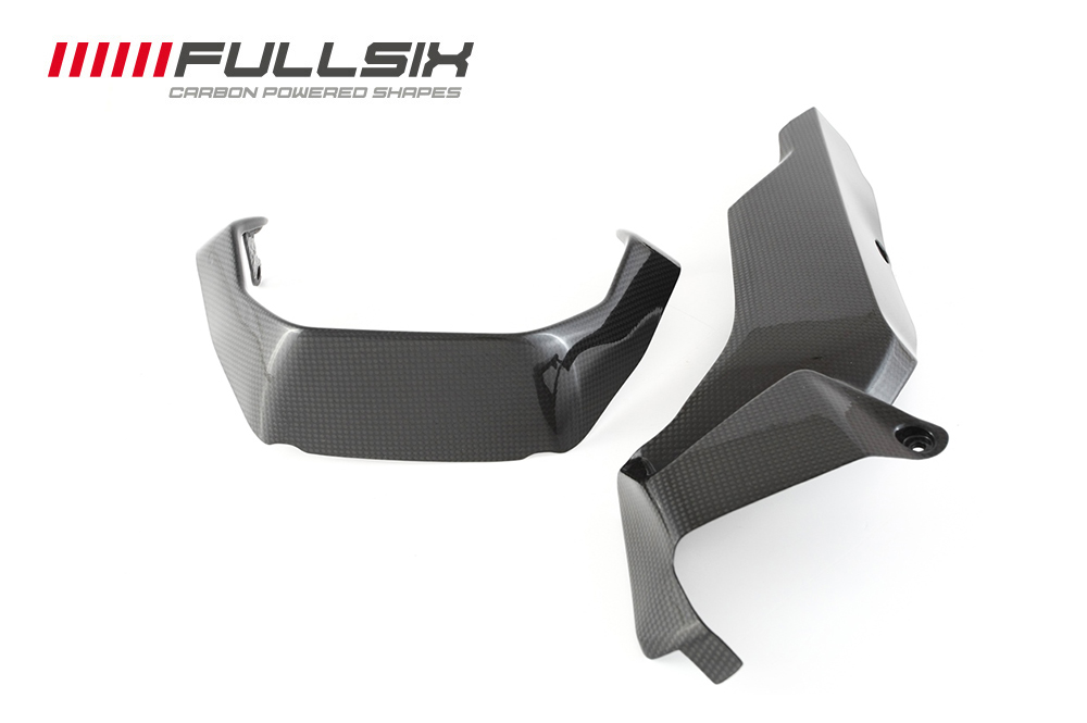 FULLSIX(フルシックス) ドライカーボン製 アンダーパネル(2点セット) DUCATI MONSTER1200